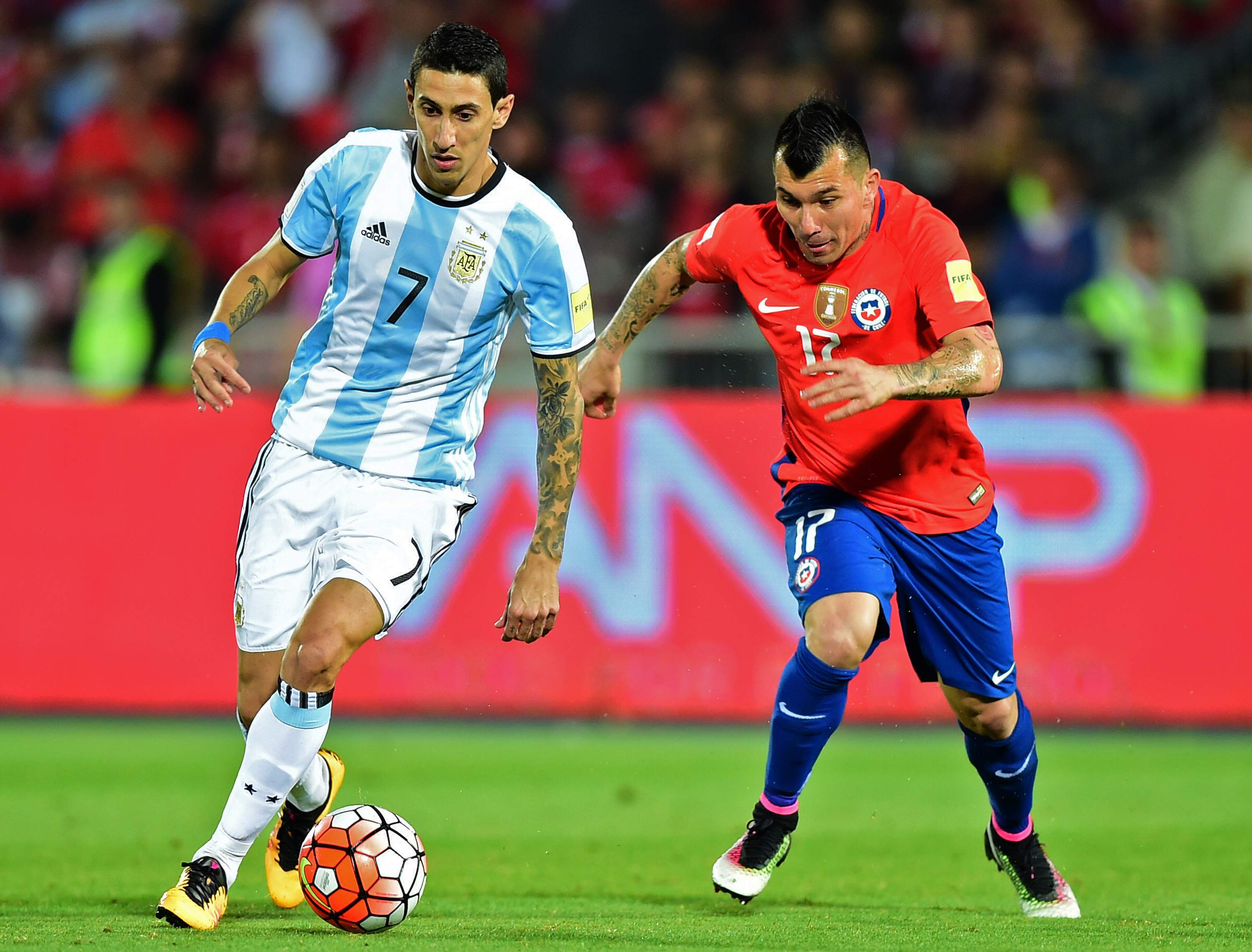 Сборная Аргентины с минимальным счетом победила сборную Чили