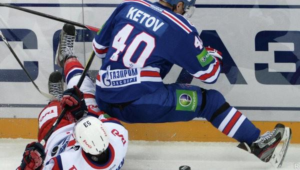 Хоккей. КХЛ. Прямая трансляция матча «СКА» - «Локомотив»