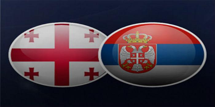 Грузия - Сербия прямая трансляция матча чемпионата мира 2018. Отборочный турнир.
