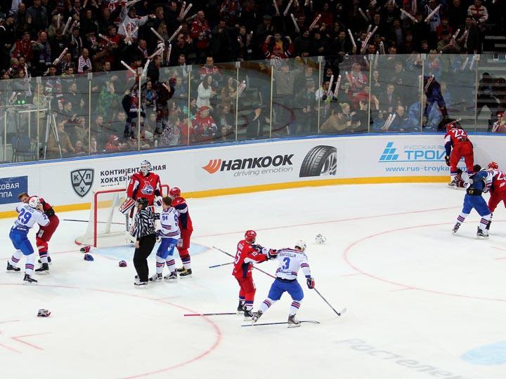 СКА одержали третью победу над «Локомотивом»