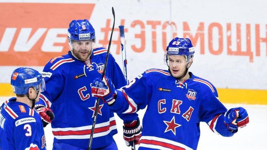 «Локомотив» - «СКА» прямая трансляция 27.03.2017. Хоккей КХЛ финал Западной конференции.