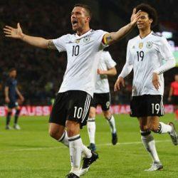 Товарищеский матч Германия - Англия 1:0