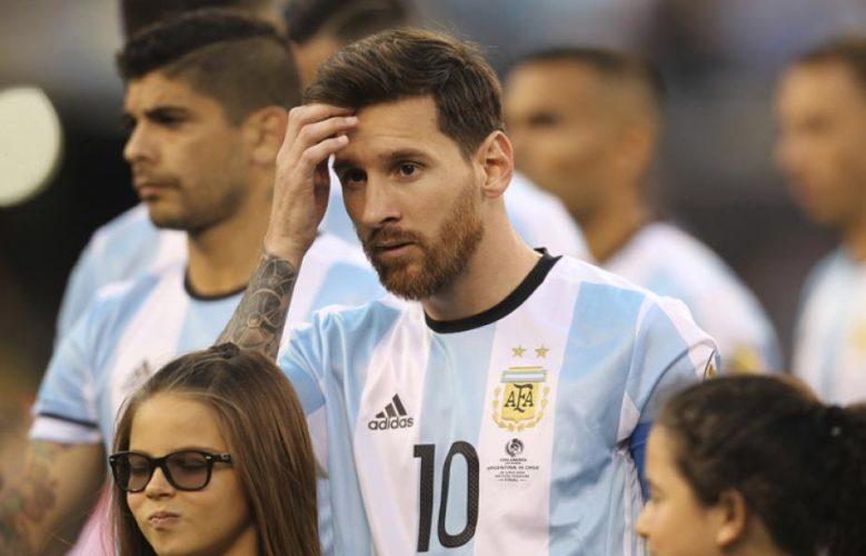 Дисквалификация Месси повлияла на сборную Аргентины