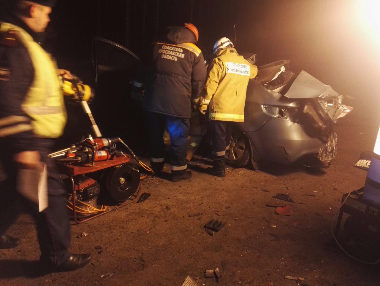 Болельщики «Спартака» погибли в ДТП под Ярославлем