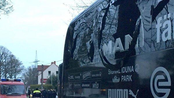 Во вторник прогремели три взрыва в Дортмунде