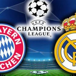 «Бавария» - «Реал Мадрид» прямая трансляция 12.04.2017. Футбол лига чемпионов 1/4 финала