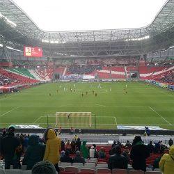 На матче «Рубин» - «Зенит» стадион был пустым