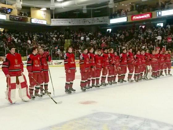 Молодежная сборная России по хоккею стала победителем Турнира пяти наций в Словакии