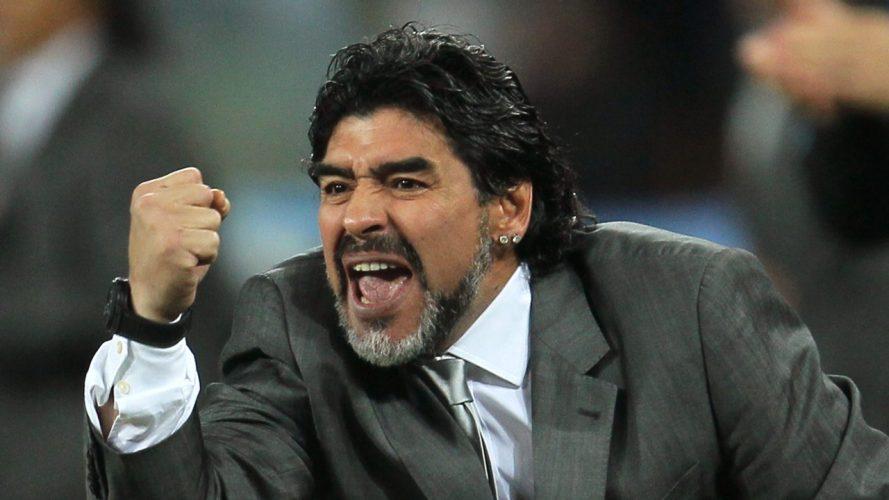 Марадона собирается подать в суд на создателей игры PES 2017