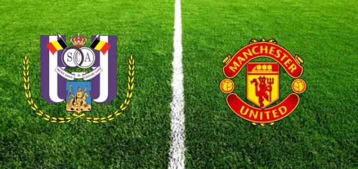 «Андерлехт» - «Манчестер Юнайтед» прямая трансляция
