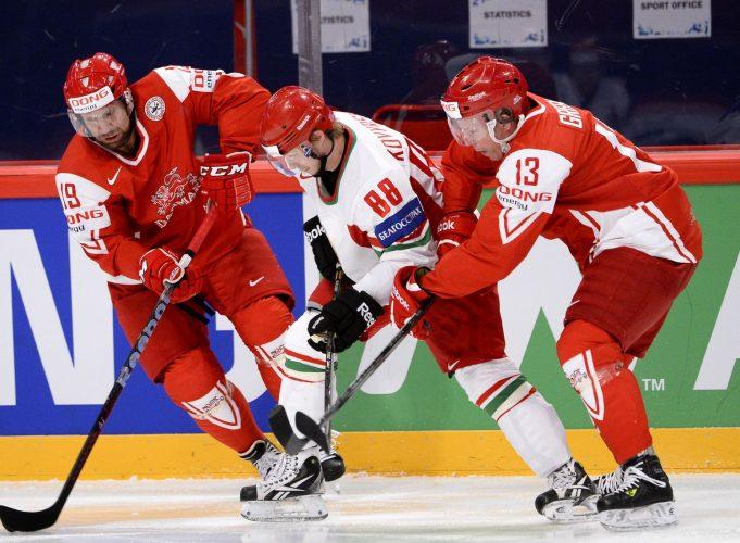 Россия - Дания прямая трансляция 11.05.2017. Чемпионат мира по хоккею