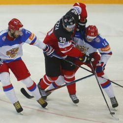 Россия потерпела поражение от Канады в полуфинале ЧМ-2017