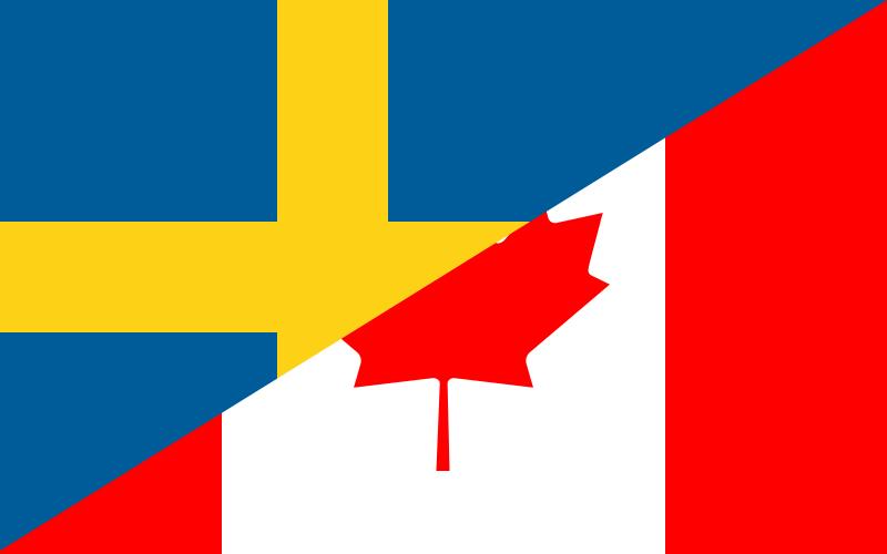 Канада - Швеция прямая трансляция 21.05.2017