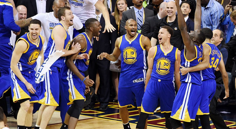 «Голден Стэйт» завоевал чемпионский титул NBA в пятый раз