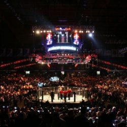 На турнире UFC в Глазго Понзинибио отправил в нокаут Нельсона за полторы минуты