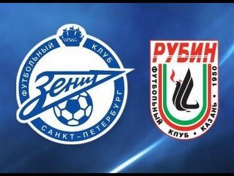 «Зенит» - «Рубин» прямая трансляция 22.07.2017. Премьер-лига