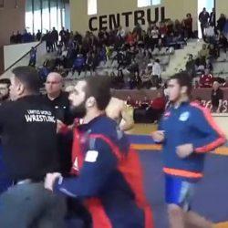 Массовая драка в Каспийске на борцовском турнире в школе
