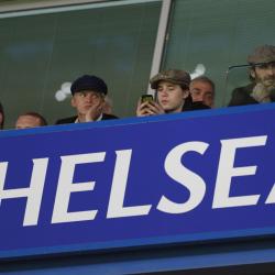 Слуцкий наблюдал матч «Манчестер Юнайтед» - «Челси» рядом с Бекхэмом