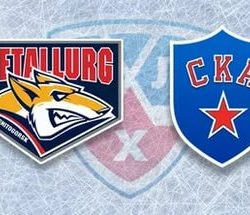 «Металлург» - «СКА» прямая трансляция 08.04.2017. Хоккей кубок Гагарина