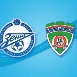 «Зенит» - «Терек» прямая трансляция 07.05.2017